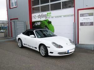 Porsche Folierung in Wien