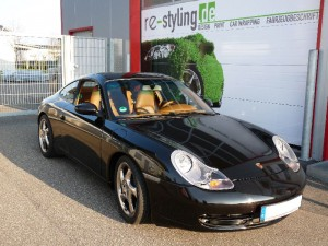 Porsche Vollverklebung